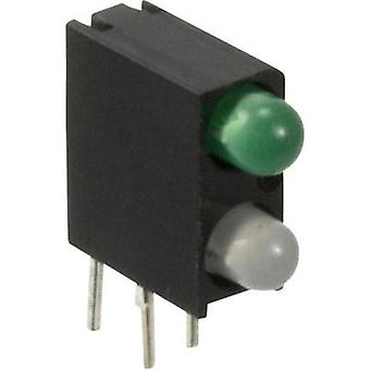 LED component Blue, Green (L x W x H) 13.33 x 11 x 4.32 mm Dialight