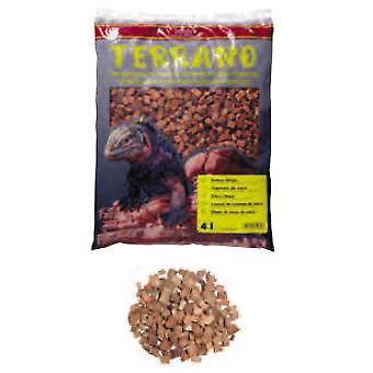 Hobby Terrano Coconut Flakes 4 L. (Reptiles , Hygiene and Cleaning , Beds and Hammocks)