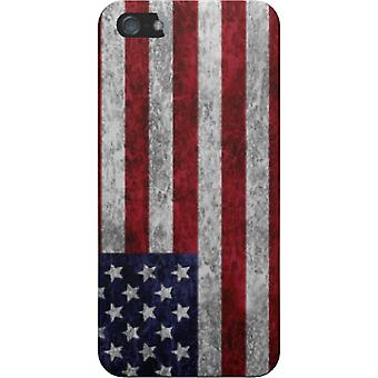 Capa Usa grunge flag para iPhone 5S/SE
