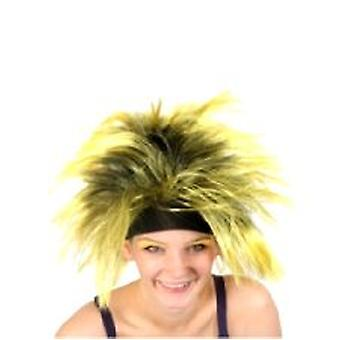 Yellow Wig with Headband