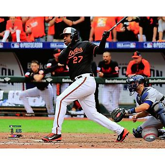 Delmon Young three run double Game 2 of the 2014 American League Division Series Photo Print