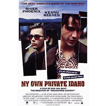 Мой собственный частный Айдахо фильм плакат печать (27 x 40)
