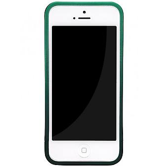 Skech glow cover cover bright iPhone 5 5S grey/green