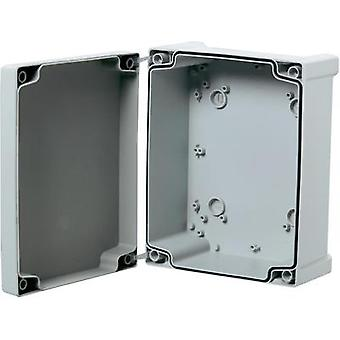 Wall-mount enclosure 130 x 95 x 65 Acrylonitrile butadiene styrene Grey (RAL 7035) Fibox TA131007 1 pc(s)