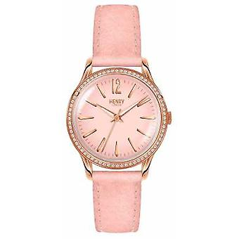 Henry London Womens Shoreditch Pink Set HL34-SS-0202 Watch