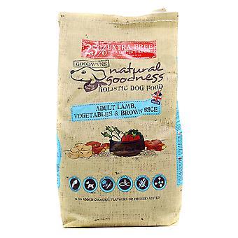 Goodwyns voksen komplet lam brune ris & grøntsager 2kg