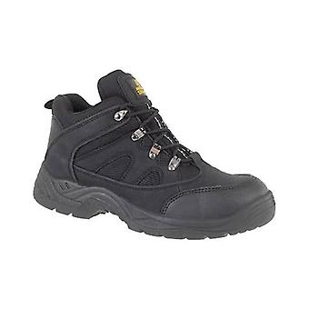 Amblers Steel FS151 Womens Safety Mid Boots Textile Synethetic Single Density