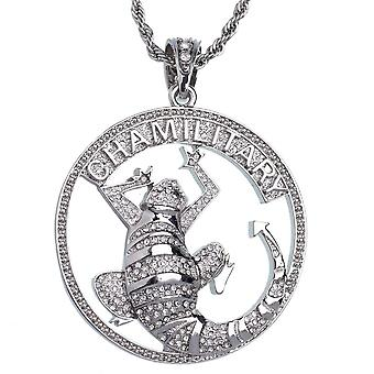 ICED OUT Bling Hip Hop Kette - Chamillitary