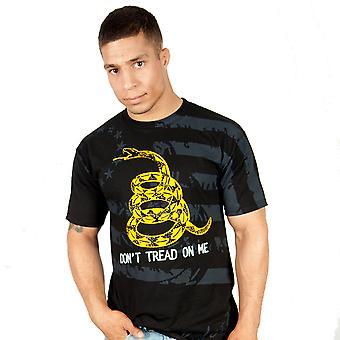 Ranger op ikke træde på mig T-Shirt - Black