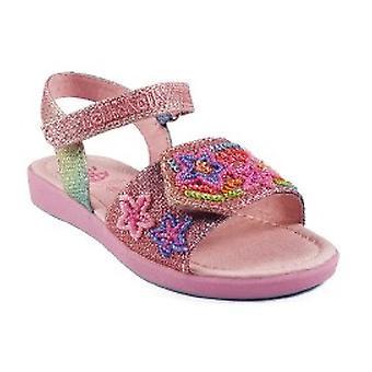 Lelli Kelly flickor regnbåge stjärnor LK4410 sandaler