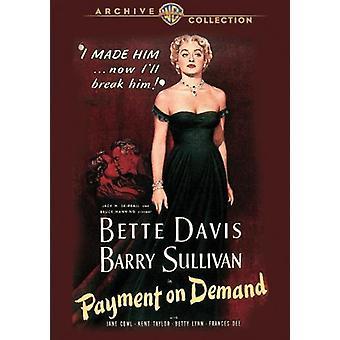 Zahlung auf Nachfrage [DVD] USA importieren
