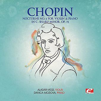 F el. Chopin - nocturno 2 para la importación de los E.e.u.u. violín Piano do sostenido menor Op 72 [CD]