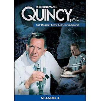 Quincy Me: Season 4 [DVD] USA import