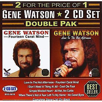 Gene Watson - Double Pak [CD] USA import