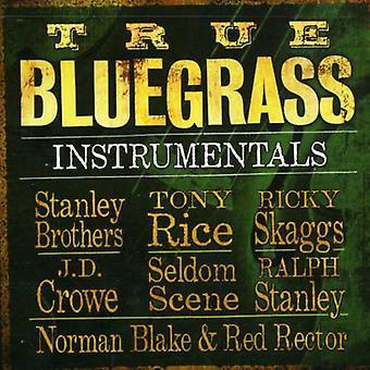 Ægte Bluegrass instrumentale - sande Bluegrass instrumentale [CD] USA importerer