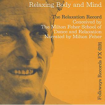 Milton Feher - Relaxation Record [CD] USA import