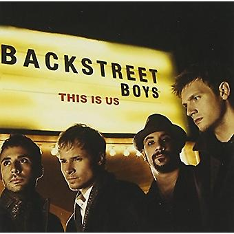 Backstreet Boys - This Is Us [CD] USA import