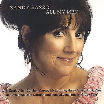 Sandy Sasso - All My Men [CD] USA import