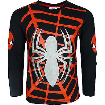 Marvel Spiderman Long Sleeve Top / T-Shirt NEW DESIGN