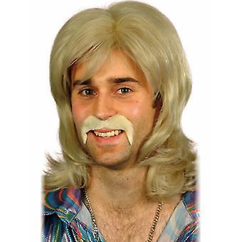 70s wig dancer retro of 70's disco party wig