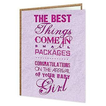 Brainbox Candy Small Packages Girl Card