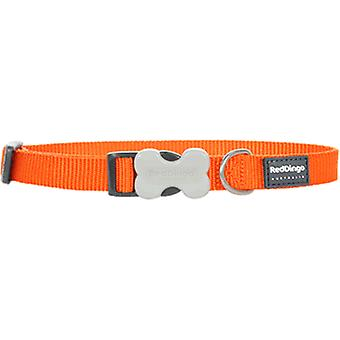 Red Dingo Smooth Orange Dog Collar (Chiens , Equipement , Colliers)