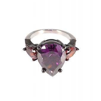 W.A.T Cubic Zirconia druppelvorm Ring