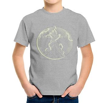 Vitruvian Saiyan Vegeta Dragon Ball Z Kid's T-Shirt