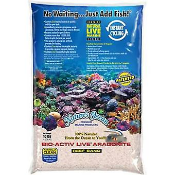 Natures Ocean Activ Live Bio White 0.1-0.5 mm 4.5 Kg (Fish , Plant Care , Substrates)