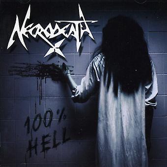 Necrodeath - 100% helvede [CD] USA importerer