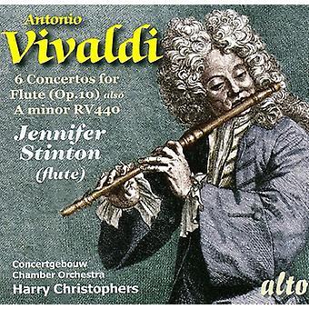 A. Vivaldi - Vivaldi: 6 Concertos for Flute [CD] USA import