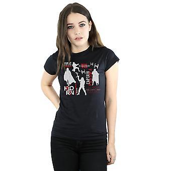 Star Wars Women's The Last Jedi First Order Silhouettes T-Shirt