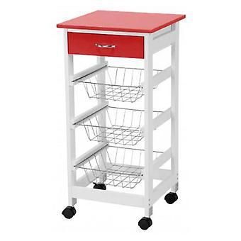 Bigbuy Carro de cocina Craftenwood (Home , Kitchen , Storage and pantry , Kitchen carts)