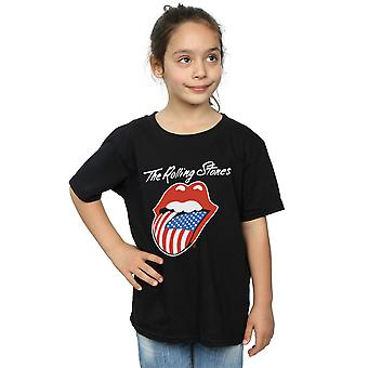 Rolling  Stones Girls American Tongue T-Shirt