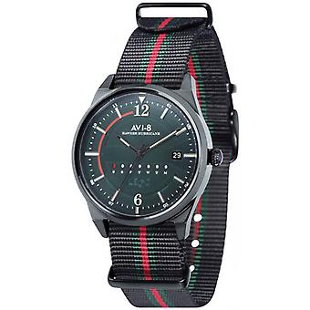 AVI-8 Hawker Hurricane Watch - Black/Red