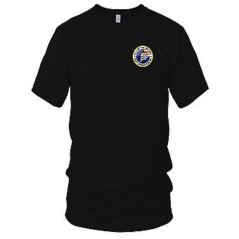 US Army - A Company 1st Squadron 101st Division Spectres Embroidered Patch - Mens T Shirt