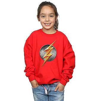 DC Comics ragazze Justice League Movie Flash emblema Sweatshirt