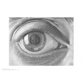 Eye - MC Escher affisch affisch Skriv