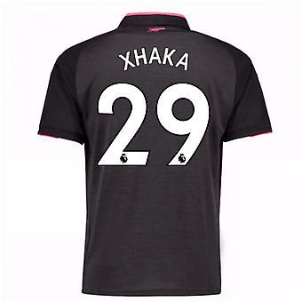 2017-18 Arsenal Third Shirt (Xhaka 29)