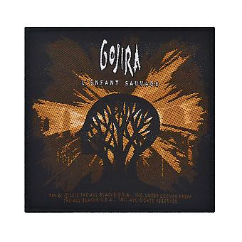 Gojira l ' Enfant Sauvage Woven Patch