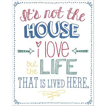 Life Lived Stamped Embroidery Kit-8