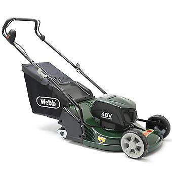 Webb 17inch WERR17LIP Rear Roller Cordless Mower with Battery & Charger