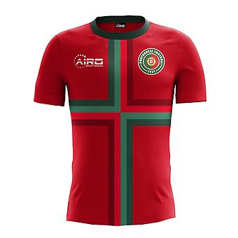 2018-2019 Portugal thuis Concept voetbalshirt