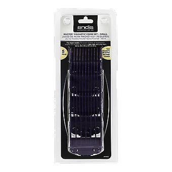 Andis Small Nano-Silver Magnetic Comb Set (01410)