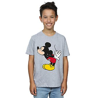 Disney Boys Mickey Mouse Split Kiss T-Shirt