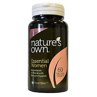 Natures Own Organic Multi, for women, 60 capsules