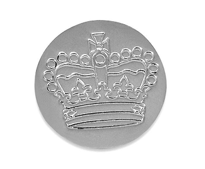 Golf Ball Marker Silver Jubilee Crown - Argent massif