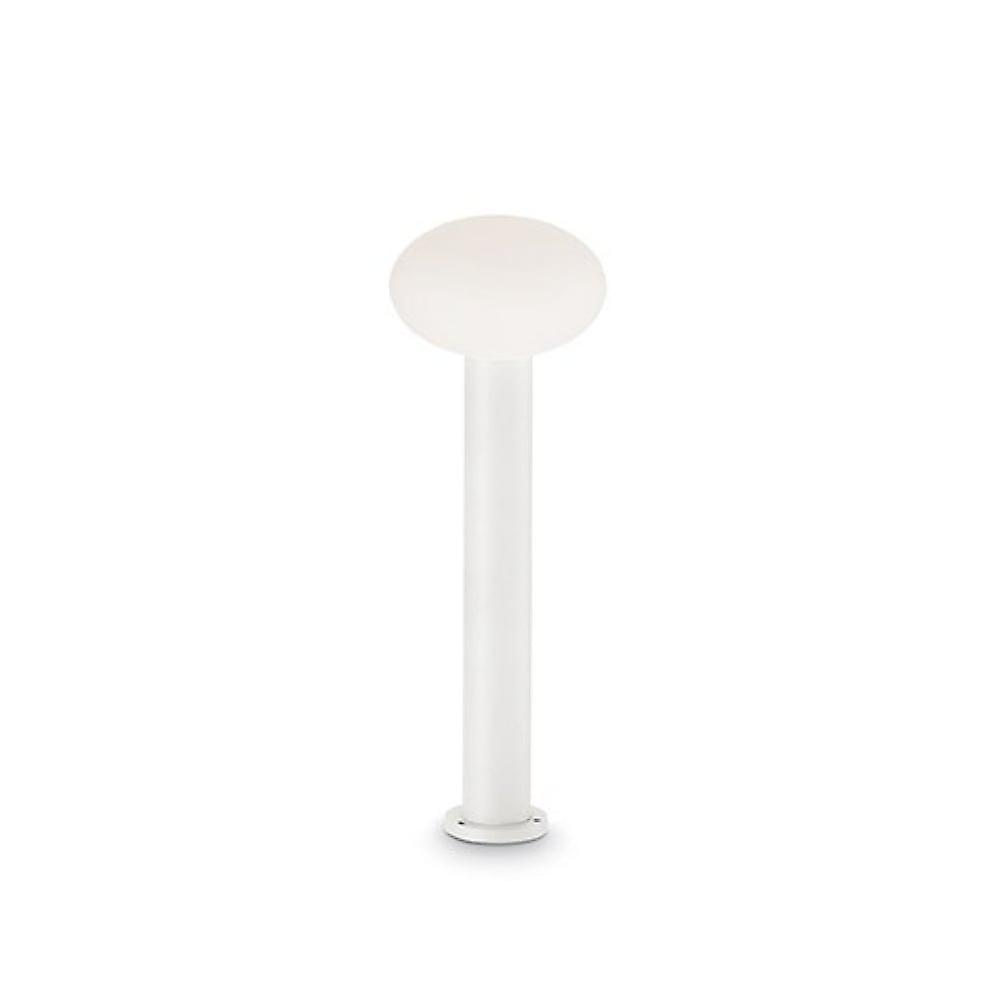 Ideal Lux Armony voie jardin Post LED Globe Opal, blanc, 60cm