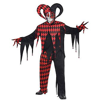 Amscan Adult Sinister Joker Costume (Babies and Children , Costumes)