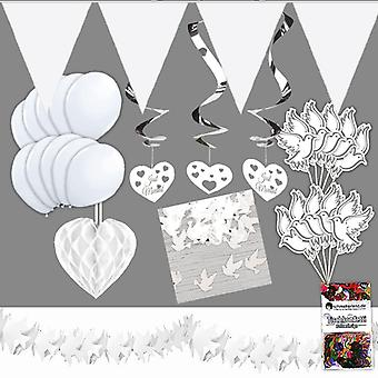Wedding guestbooks party package decoration box 28-teilig standard wedding box